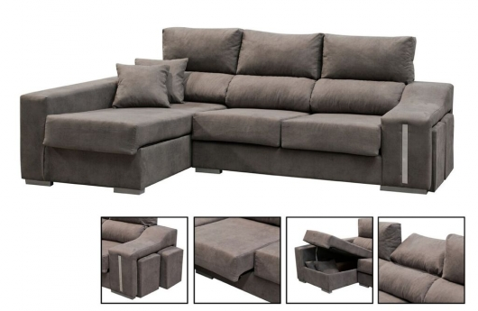 chaiselongue extensible i reclinable